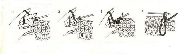 мочалка крючком для начинающих пошаговая инструкция с фото как
