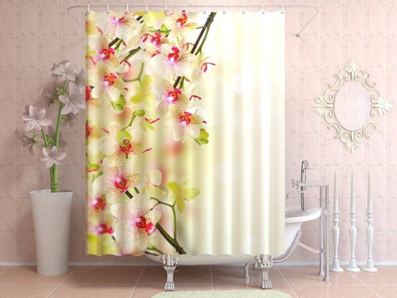 Как выбрать и установить шторку в ванной комнате