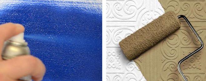 какими красками можно красить пенопласт