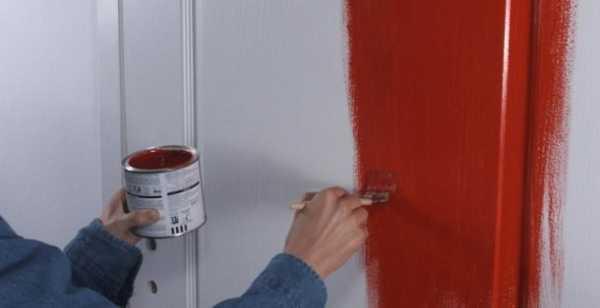 чем покрыть деревянную дверь некоторые рекомендации чем покрасить