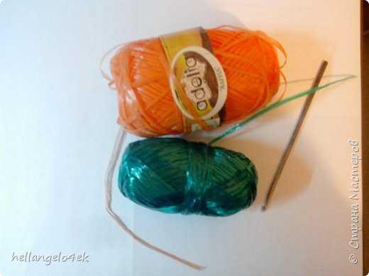 Как называются нитки для вязания мочалок