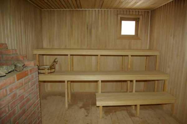 Как обшить баню блок хаусом внутри