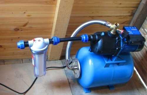 Попадание воды в ресивер бытовых насосных станций водоснабжения